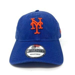 NEW ERA - New York Mets Blue Strapback Hat